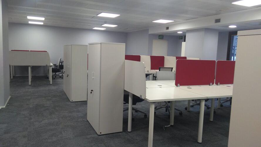 Ampliación de oficinas en Madrid